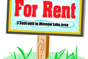 3 Bedroom in minnow lake area