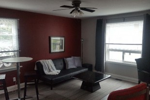Furnished 2 bedroom — WiFi + laundry — Aug 1st