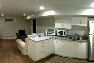1 bedroom basement apartment all inclusive and furnished
